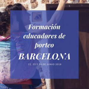 formación educadores de porteo Barcelona