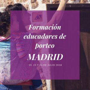 formación educadores de porteo Madrid