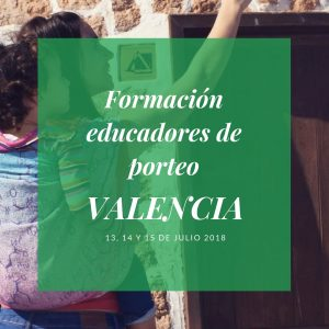 formación educadores de porteo Valencia